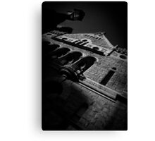 Haunting past Canvas Print