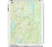 Maine USGS Historical Map Readfield 102912 2000 24000 iPad Case/Skin