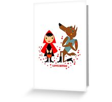 Love can conquer all! Greeting Card