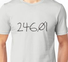 prisoner no. 24601 Unisex T-Shirt