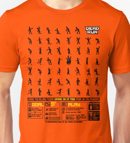 Dead Run: A Game On A Tee T-Shirt