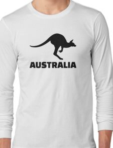 Australia kangaroo Long Sleeve T-Shirt