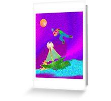 jojo Greeting Card