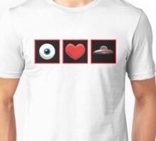 I HEART UFOs Unisex T-Shirt