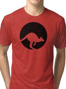 Kangaroo moon Tri-blend T-Shirt