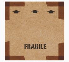 Cardboard Box Print One Piece - Long Sleeve