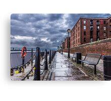 Albert Dock  Liverpool  Canvas Print