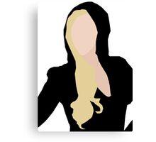Lady Gaga Versace Canvas Print
