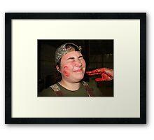Blood Ritual  Framed Print