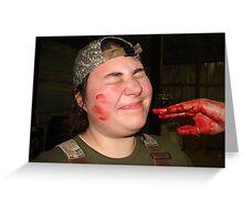 Blood Ritual  Greeting Card