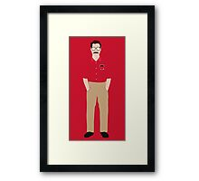 Her - Theodore Twombly  Illustration Framed Print