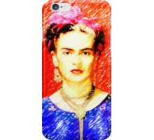 Looking for Frida Kahlo... iPhone Case/Skin