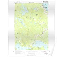 Maine USGS Historical Map Red Beach 460801 1949 24000 Poster