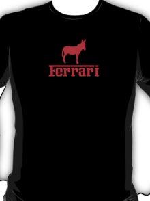 Ferrari Ass Parody  - red T-Shirt
