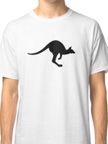 Black kangaroo Classic T-Shirt