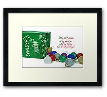 My Holiday Wish Framed Print