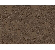 Brown Pattern Photographic Print