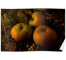 Bramleys and Blackberries Poster