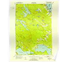 Maine USGS Historical Map Red Beach 807095 1949 24000 Poster