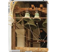 """""""For Whom the Bell Tolls"""" at Rila Monastery, Bulgaria iPad Case/Skin"""