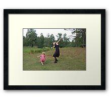 We love the world Framed Print