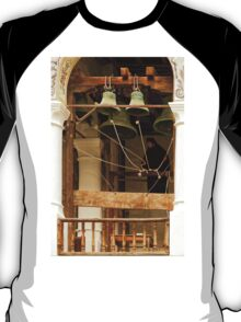 """""""For Whom the Bell Tolls"""" at Rila Monastery, Bulgaria T-Shirt"""