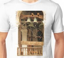 """For Whom the Bell Tolls"" at Rila Monastery, Bulgaria Unisex T-Shirt"