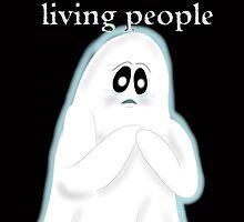 Scared Ghost by E-Ocasio