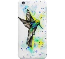 Watercolour Hummingbird iPhone Case/Skin