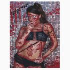 MODEL CANDICE MARIE-ZOMBIED!!! by artsinister