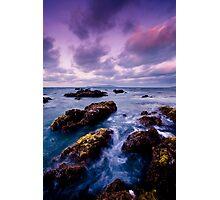 Lilac Storm Photographic Print