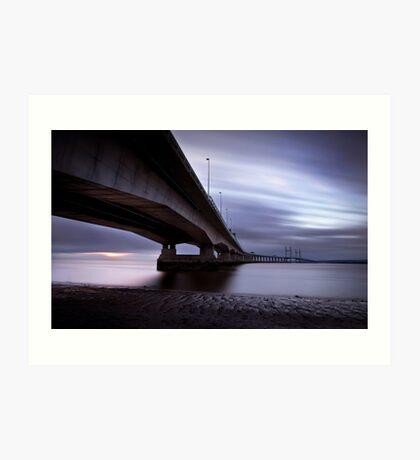 Severn crossing Art Print