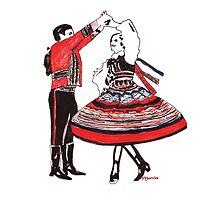 Lublin Folk Dance 1 by MerviaArt