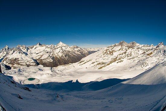 Panorama from Gornergrat by peterwey