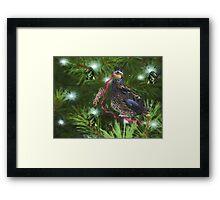 Holiday Ribbon Framed Print