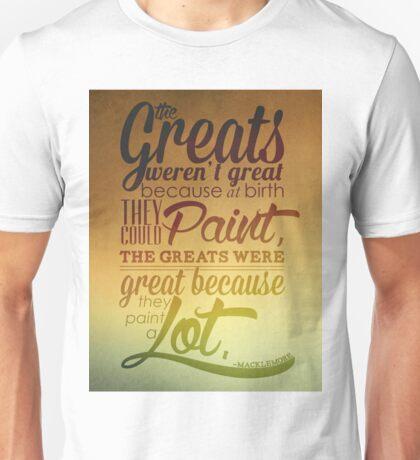 Ten Thousand Hours Unisex T-Shirt