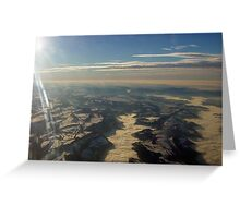 Descending to Basel Greeting Card