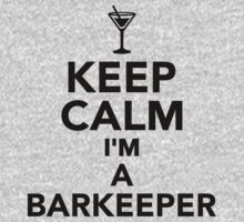 Keep calm I'm a Barkeeper Kids Clothes