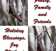 Fabulous, Frosty Greetings by mnkreations