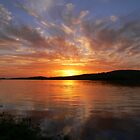 Ballyshannon Estury Sunset by doublevision