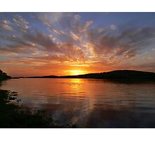 Ballyshannon Estury Sunset Photographic Print