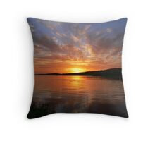 Ballyshannon Estury Sunset Throw Pillow