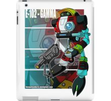 E-102-Gamma iPad Case/Skin