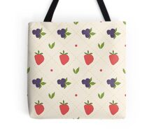 berry pattern Tote Bag