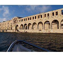 Maltese Building Photographic Print