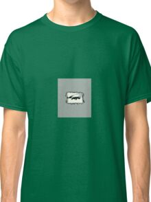 Distorted vision shades of grey Classic T-Shirt