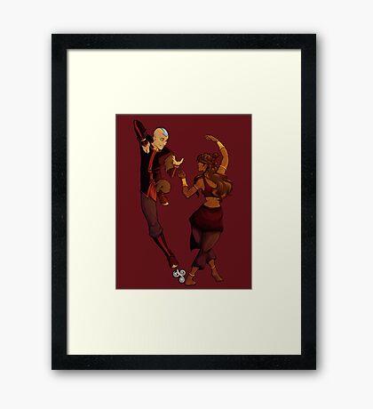 kataang dance Framed Print
