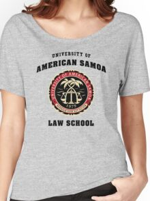 BCS - University of American Samoa Law School Women's Relaxed Fit T-Shirt