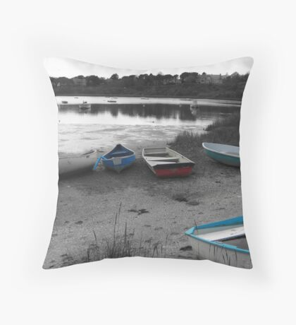 Oyster Pond Throw Pillow