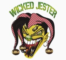 "Custom Funny Art ""Wicked Jester"" new by Fatbuldog"